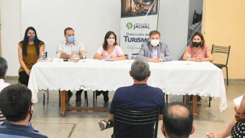 Trabajan para potenciar el turismo que se viene en Jáchal