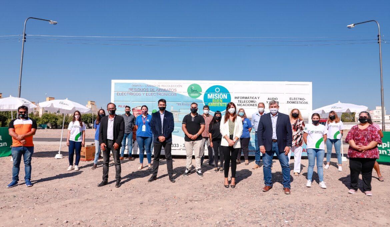Por un mes, Capital recicla basura electrónica en Bº Manantial
