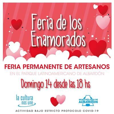 Feria de los enamorados en Albardón