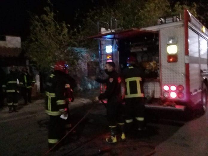 Rawson: un menor quemó su casa por jugar con el encendedor