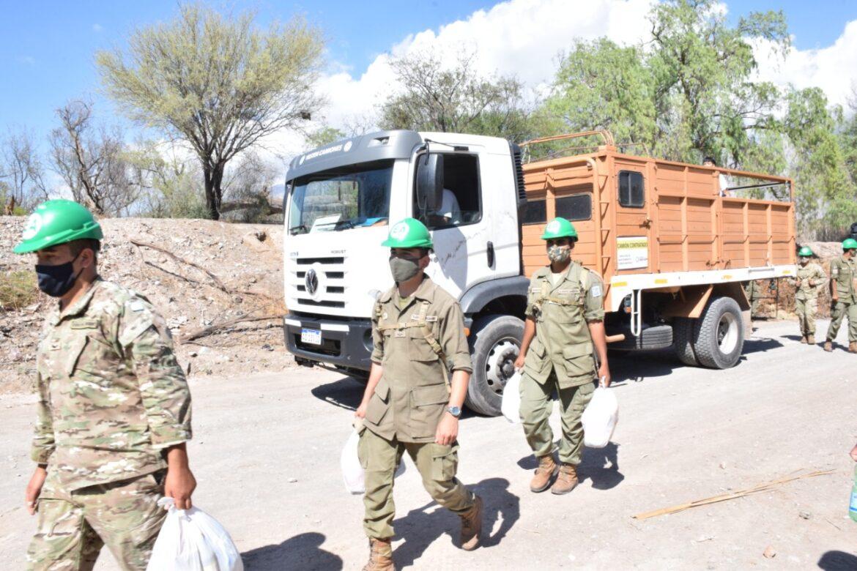 Amplio operativo de contención social en Pocito