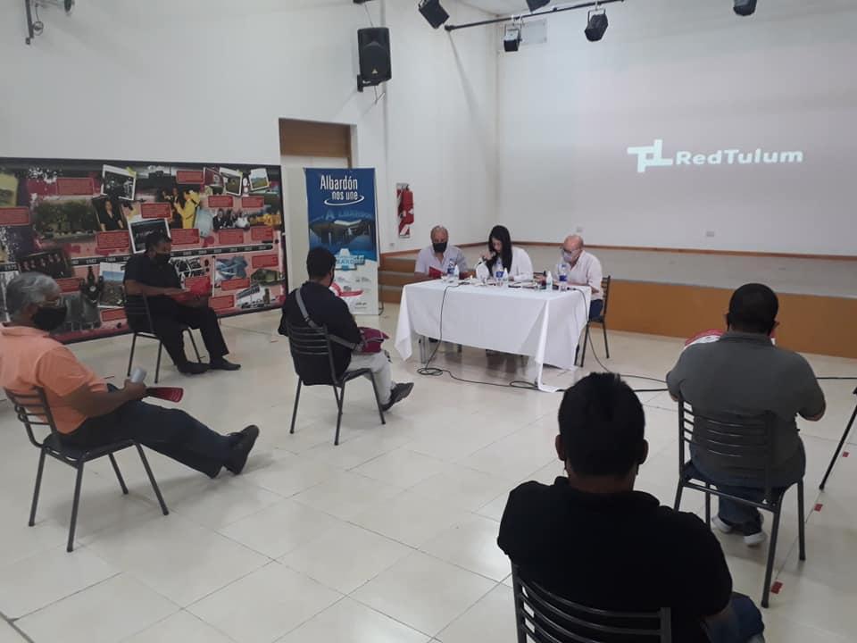 Continua el operativo de información sobre la Red Tulum en Albardón