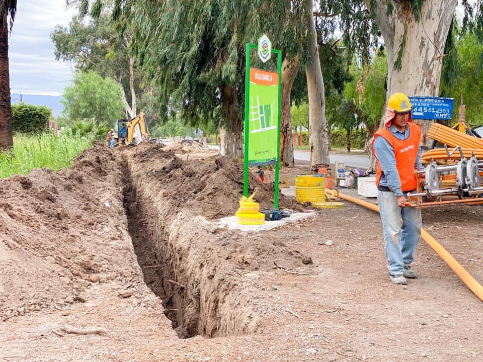 Continúan las obras en San Martín