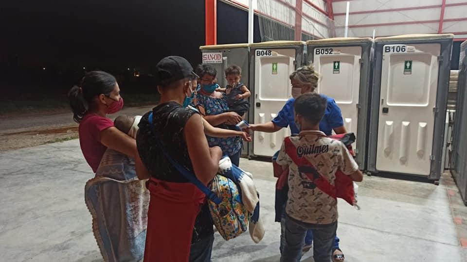 Pocito preparó el Camping del Club Aberastain para albergar a las personas evacuadas por el temporal