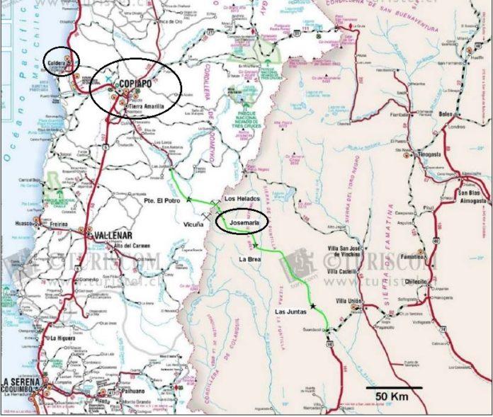 Obra clave para Josemaría: el gobierno invertirá 71 millones de USD para el tren que saque el concentrado de cobre desde Albardón