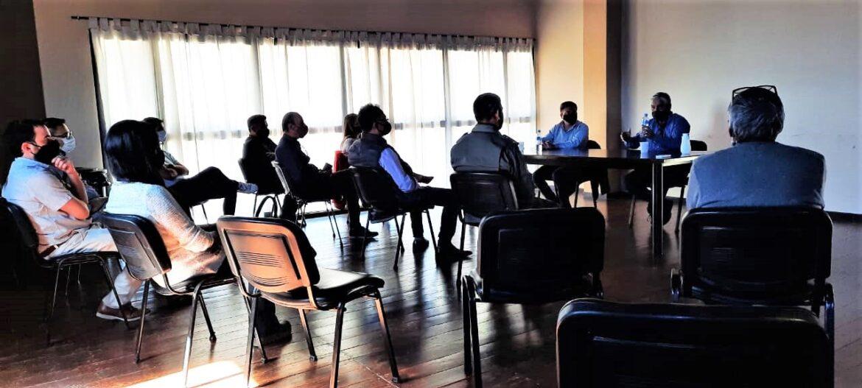 Jáchal: el comité de emergencia estableció un plan de trabajo para el lago Los Cauquenes