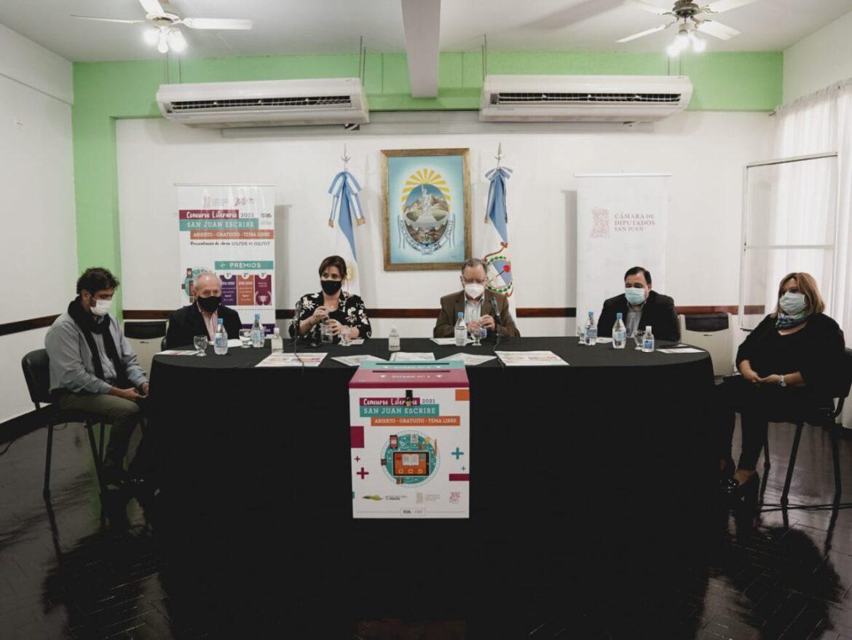 El concurso San Juan Escribe fue presentado en sociedad en Pocito