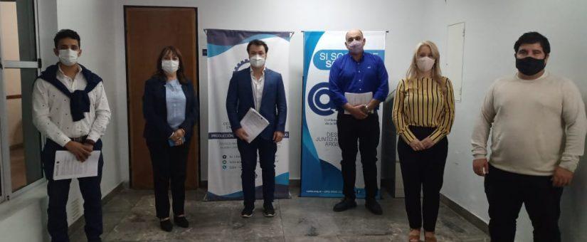 La FESJ participó de la elección al joven empresario sanjuanino