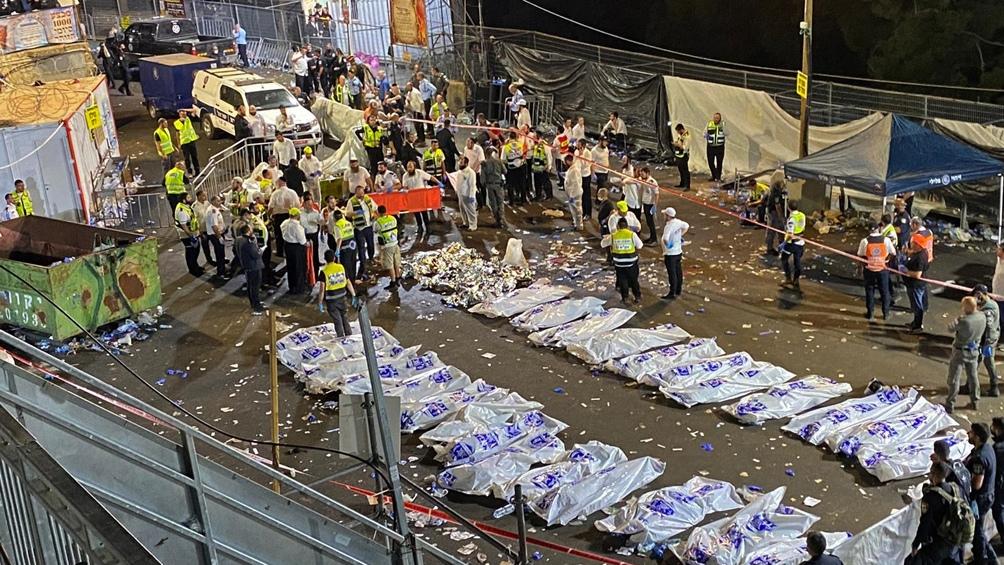 Murieron 44 personas en una estampida durante una festividad religiosa