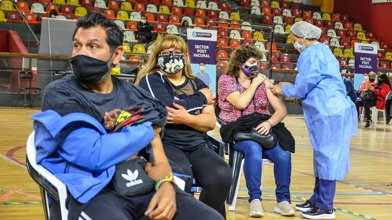 COVID-19: séptimo Parte de Vacunación en la provincia de San Juan