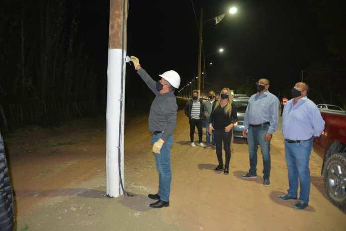 Valle Fértil: Baldes de las Chilcas tiene nuevo tendido eléctrico