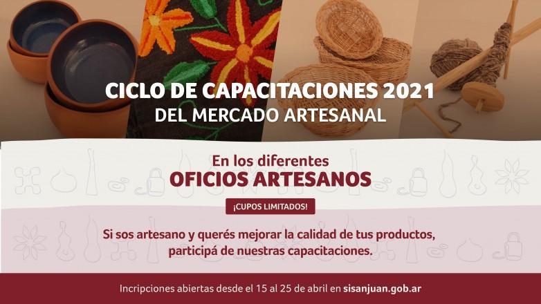 El Mercado Artesanal lanza su primer ciclo de capacitaciones 2021