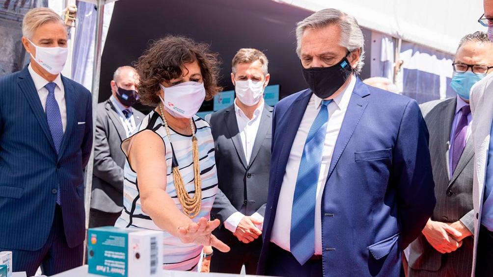 Argentina es el primer país de América Latina en producir la vacuna Sputnik V