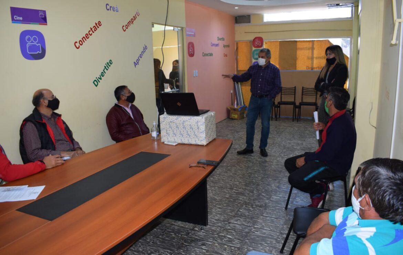 """Valle Fértil: continúan las actividades del proyecto """"Programa estímulo municipal a la producción forrajera"""""""