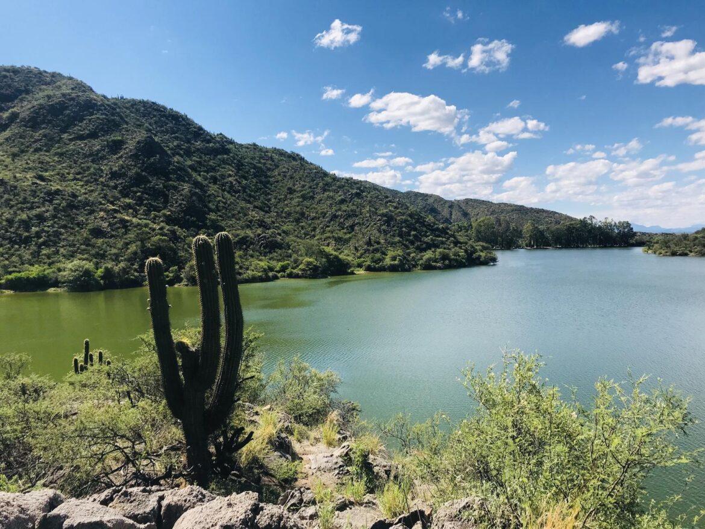 Valle Fértil: realizan operativos de limpieza en el Dique San Agustín