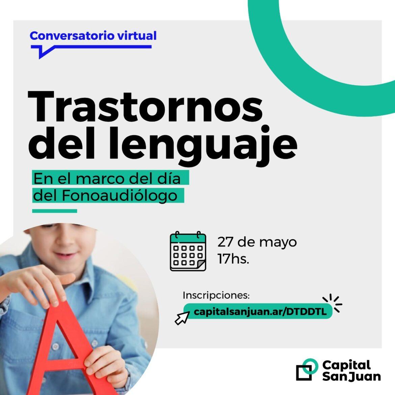 Inscripciones abiertas para el Conversatorio virtual sobre Trastornos del Lenguaje