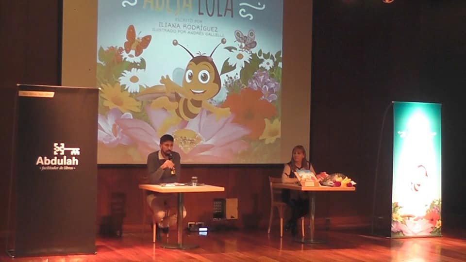 La albardonera Iliana Rodríguez presentó su primer libro infantil