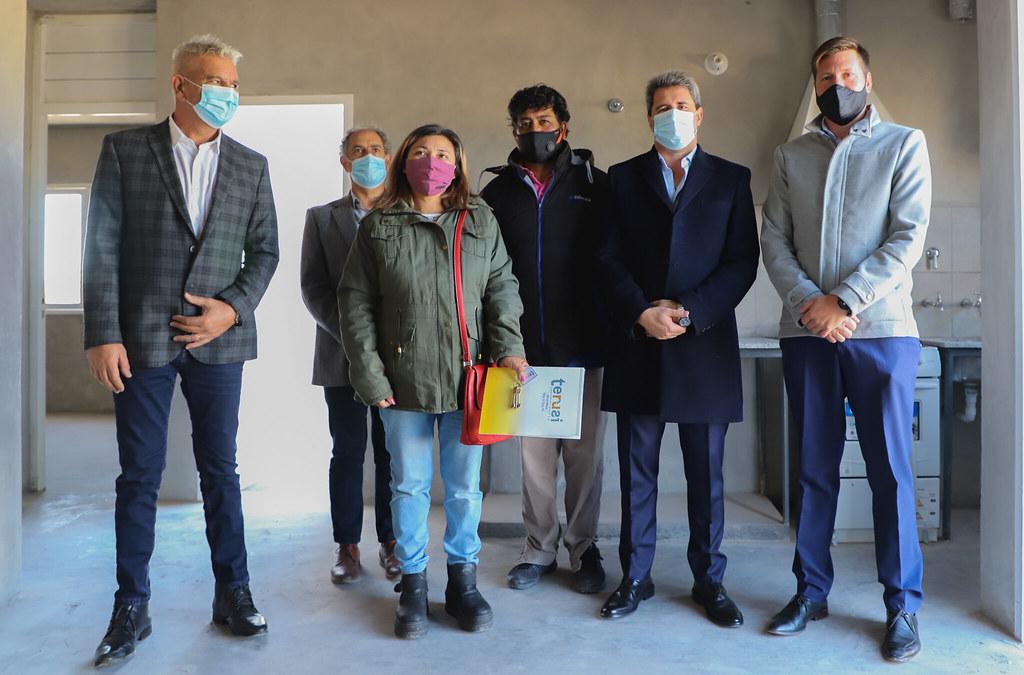 Sarmiento: entregaron viviendas en el Barrio La Silvica