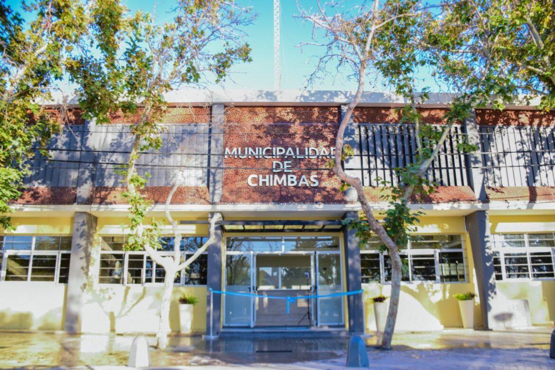 Chimbas: El edificio municipal se renueva para una mejor atención