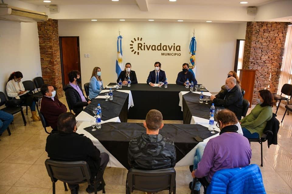 """Crean en Rivadavia el primer """"Consejo del Arbolado Público"""" municipal de San Juan"""