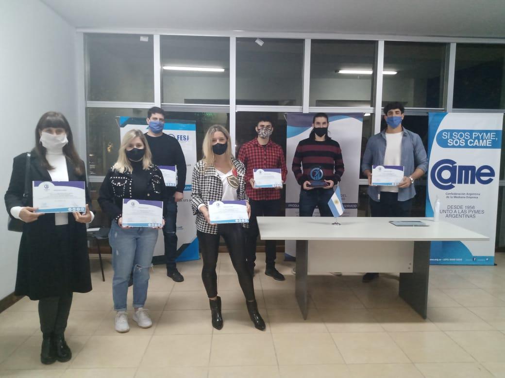Apuesta al presente y futuro: JEFES entregó las distinciones a jóvenes empresarios sanjuaninos