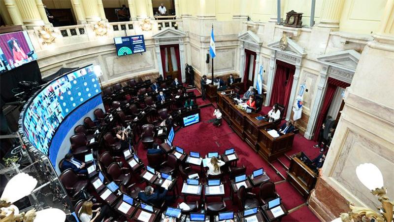 El Senado comienza a debatir sobre el proyecto oficial sobre criterios para combatir la pandemia