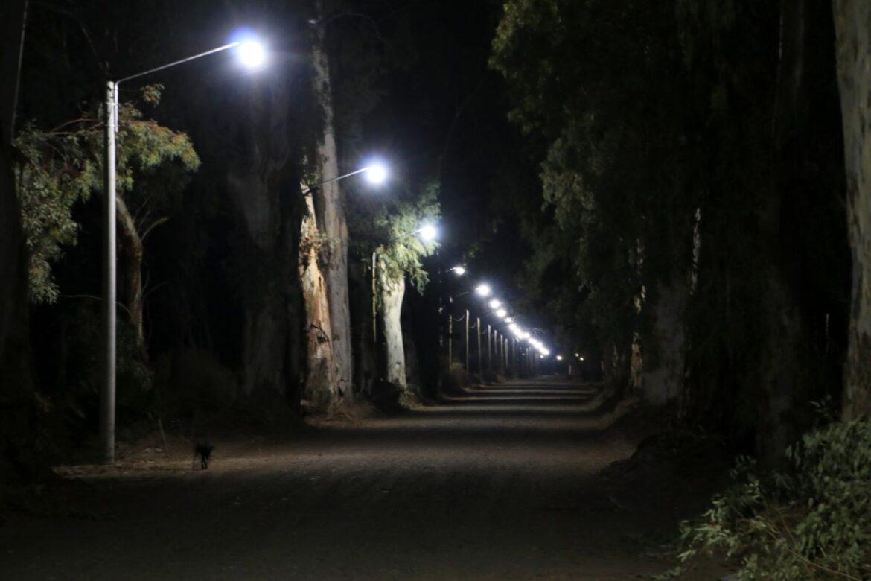 Desde hoy 20 familias del distrito Punta del Monte, cuentan con iluminación por primera vez en su historia