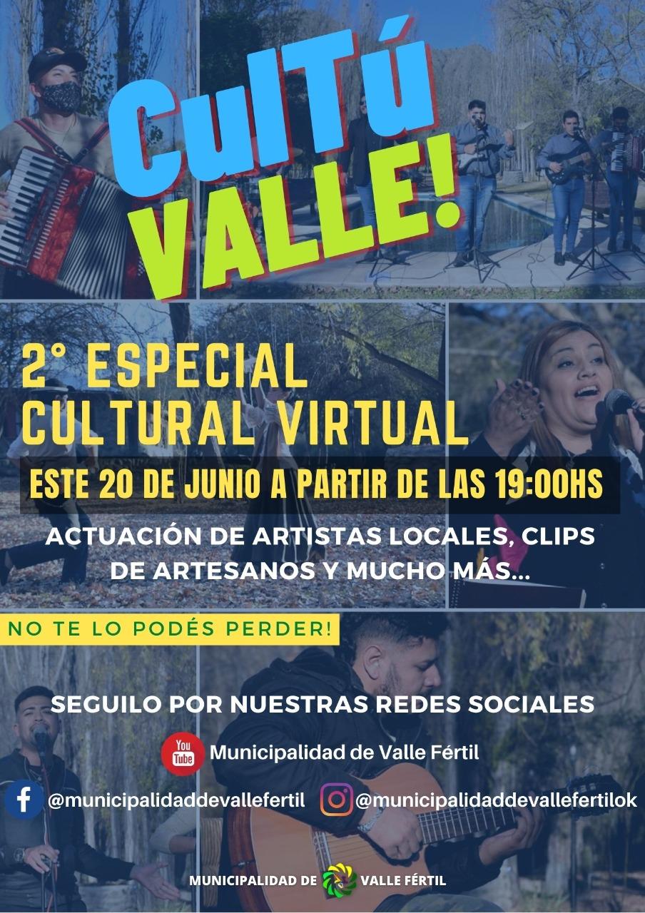 """Llega la 2ª edición de """"Cultú Valle"""" en el departamento vallisto"""