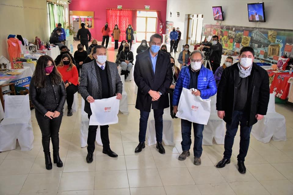Lanzamiento del Programa Hilar San Juan en Albardón