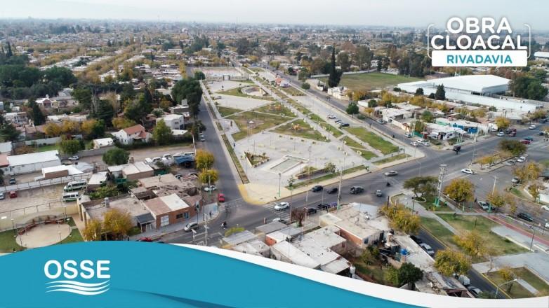 OSSE reactiva dos obras cloacales que beneficiarán a 23.000 habitantes de Rivadavia y Capital
