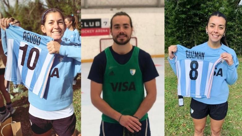 Tres sanjuaninos competirán en el Panamericano de hockey pista