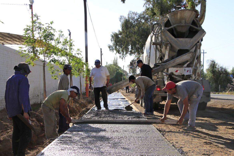 Enterate las importantes obras que se están realizando en Angaco