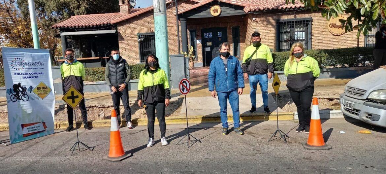 Semana de la seguridad vial en Rivadavia
