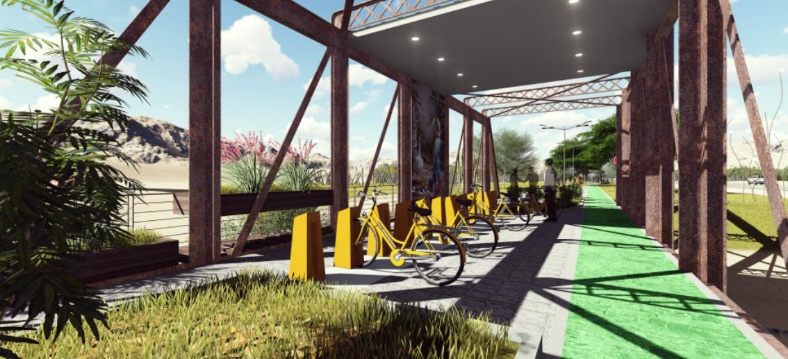 San Martín tendrá su portal de ingreso que incluirá hasta una ciclovía