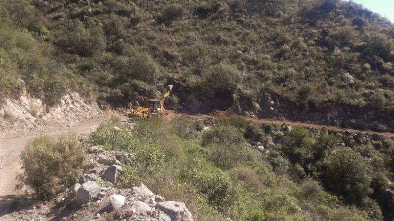 Valle Fértil: El camino a Sierra de Chávez tiene un 50% de avance