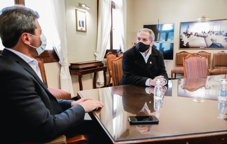 Hugo Goransky se reunió con Uñac, y es el nuevo miembro de la Comisión Nacional de la Unión Industrial Argentina
