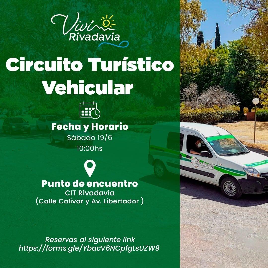 Este fin de semana, circuito turístico en Rivadavia: imperdible