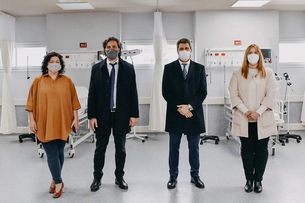 El gobernador junto a autoridades nacionales inauguraron el Hospital de 25 de Mayo