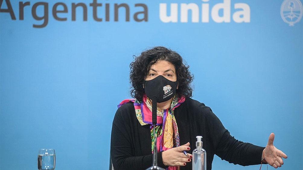 Carla Vizzotti respaldó la implementación de un pase sanitario