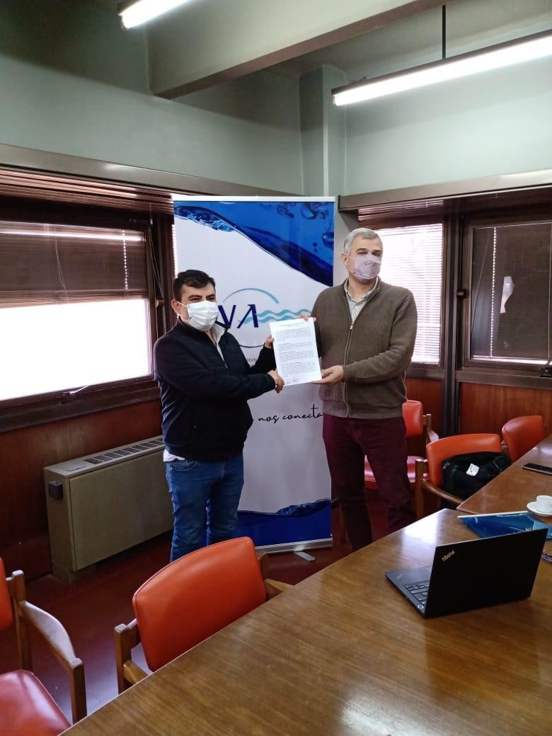 Se firmó un importante convenio entre la Municipalidad de Calingasta y el Instituto Nacional del Agua