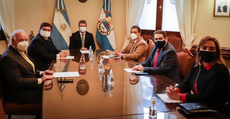 Presidente y ministros de la Corte de Justicia de San Juan se reunieron con el gobernador Uñac
