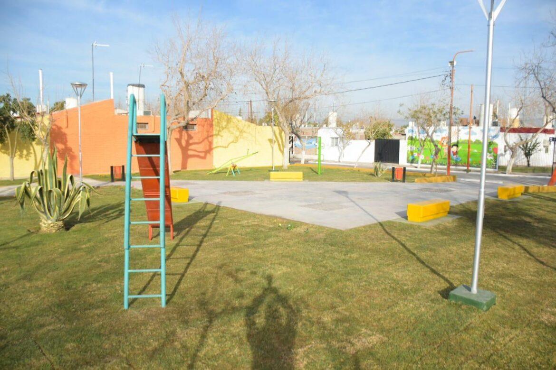 El Barrio Chimbas ll recuperó una de sus plazas